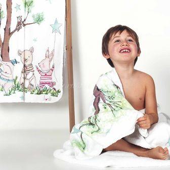 Dětský ručník WOODS 700g, GRACCIOZA