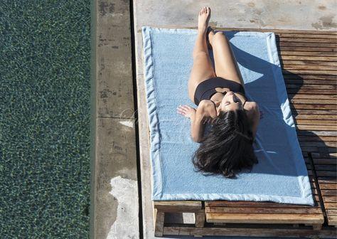 Luxusní plážový ručník COTTON DUO, 550gr GRACCIOZA