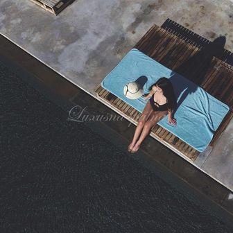 Luxusní plážový ručník  EGOIST, 800gr GRACCIOZA