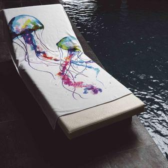 Luxusní plážový ručník  MEDÚZA 700g, GRACCIOZA