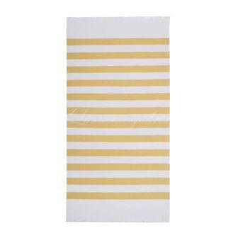 Plážový ručník COSTA NOVA MUSTARD, SOREMA