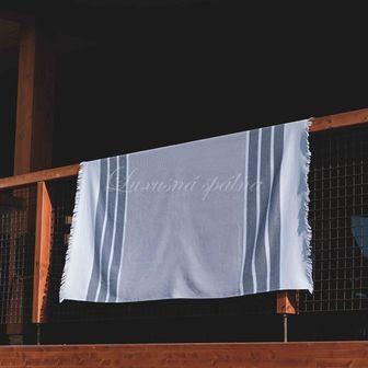 Plážový ručník GALAPOS GREY, SOREMA