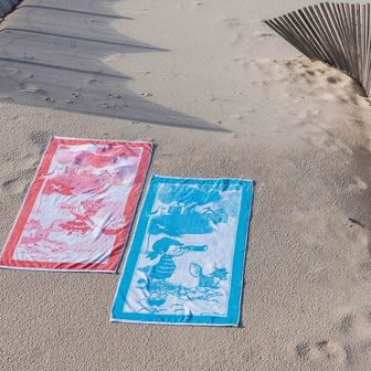 Plážový ručník LITTLE CAPTAIN, SOREMA