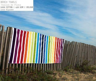 Velúrový plážový ručník BONDI, SOREMA